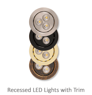 Home Elevator fixture option - Recessed LED Lights with Trim