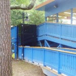 Symmetry Vertical Platform Lift at Kings Dominion installed by Area Access