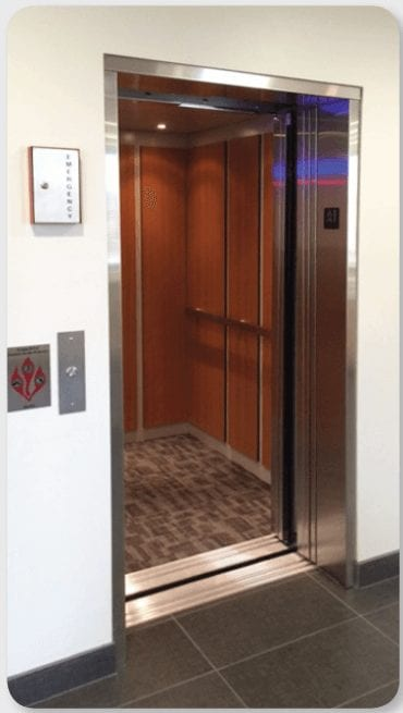 Stainless Steel Elevator Car Applied Laminate Panels