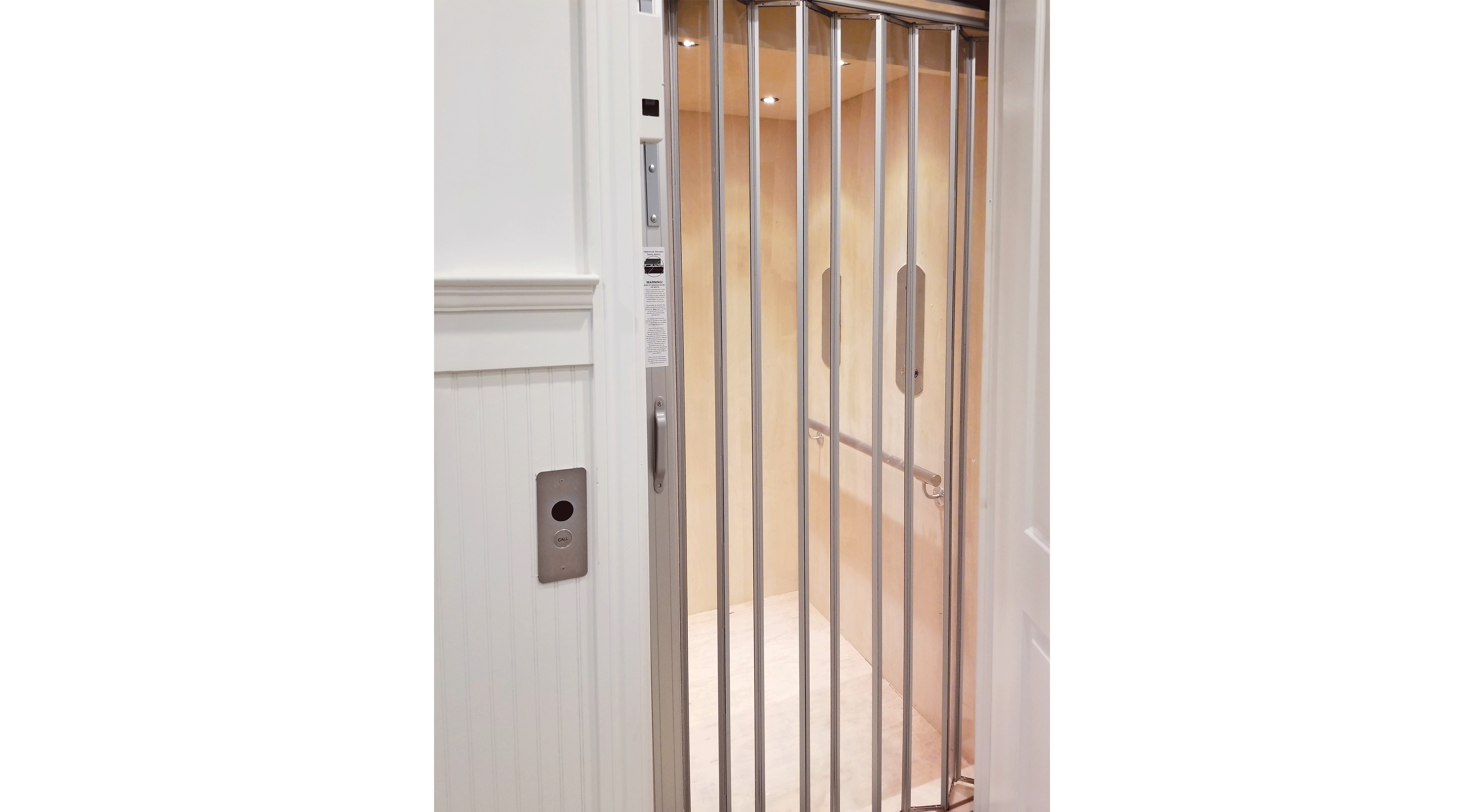 Residential Elevator Installed by Local Home Elevator Company