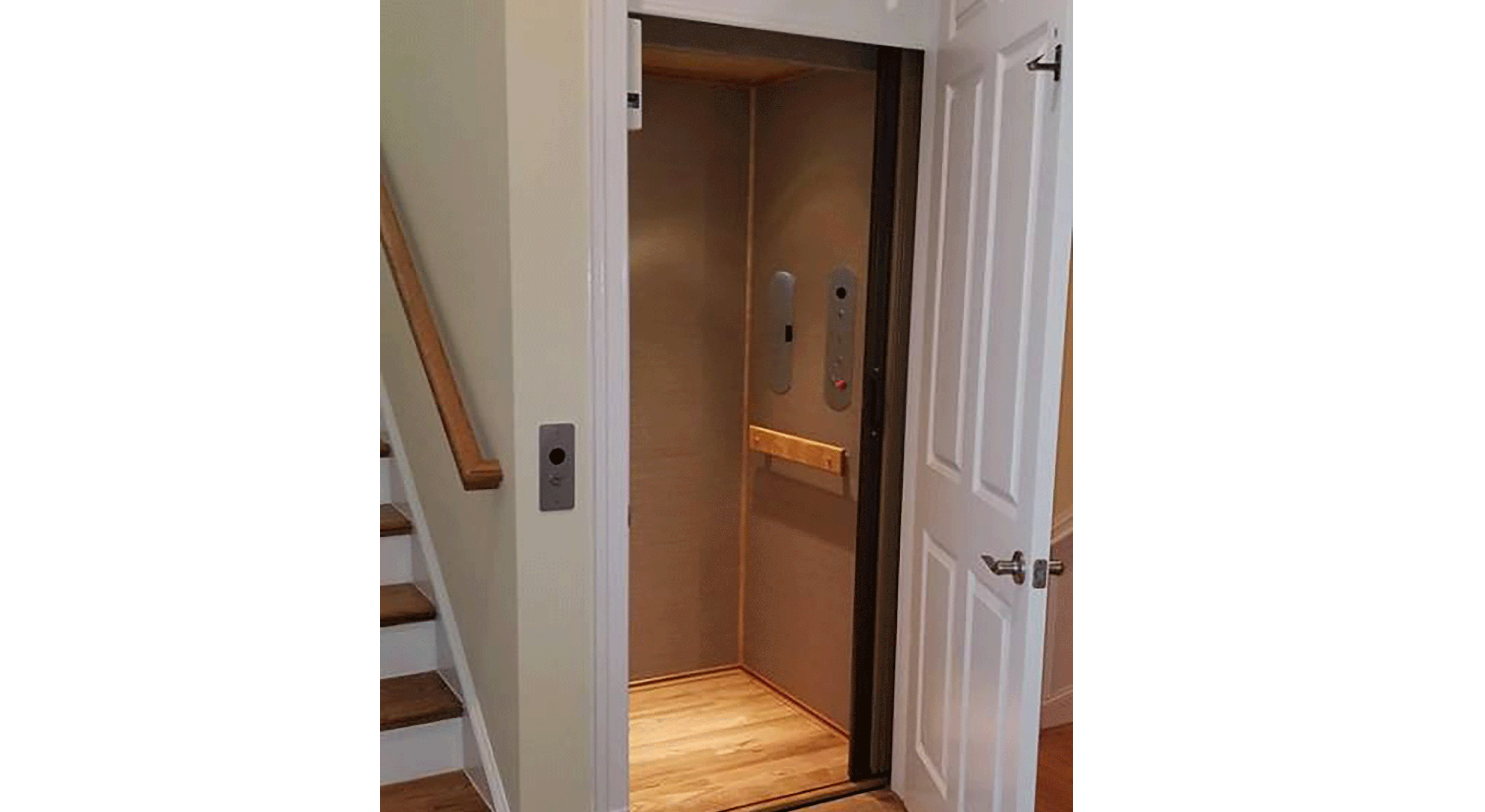 If you are in a home elevator and the power goes out what should you do?