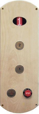 Wood Car Operating Panel for Home Elevator