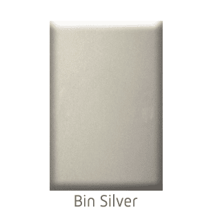 Home Elevator Interior Painted Metal Finishes - Bin Silver