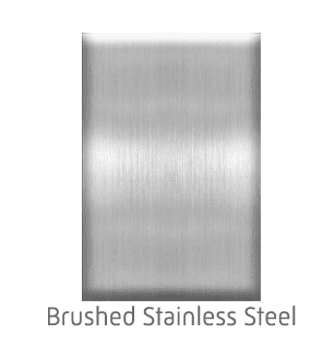 Home Elevator Interior Metal Finishes - Brushed Stainless Steel