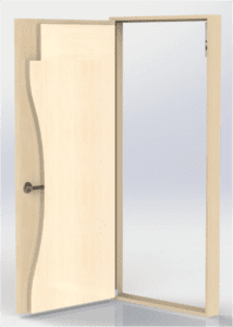 Symmetry Wood Space Guard - Full Height