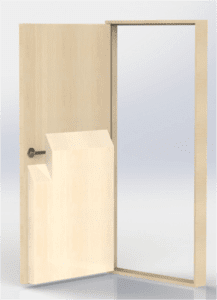 Symmetry Wood Space Guard - Half Height