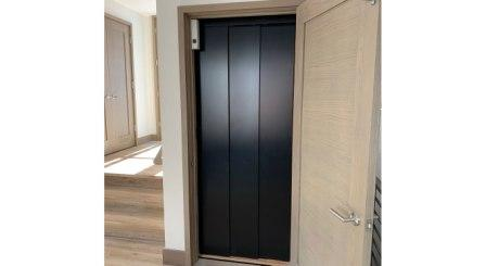 Symmetry Home Elevator with Symmetry Safety Door