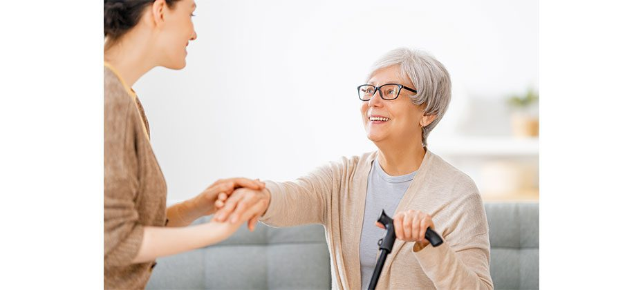 Women with can considering aging in place options